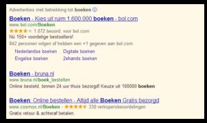 Gele-sterren-in-Google-AdWords
